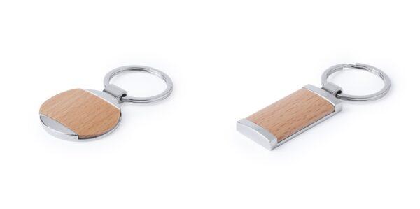llaveros-personalizados-madera-metal