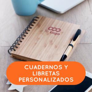 Cuadernos y libretas personalizados